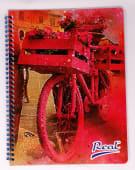 Cuaderno Espiral A4 060Hjs Cuadros Economico Mujer