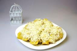 Patacón queso (porción)