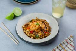 Noodles de Camarão e Frango