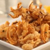 Calamari fresco fritto