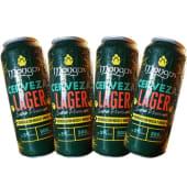4 cervezas Mongo's