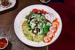 Фірмовий салат з креветками (200г)