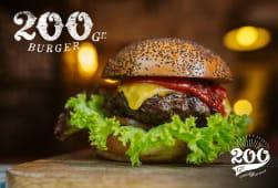 200 Gramos Burger