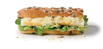 Sandwicz 30cm Śniadanie jajko i ser