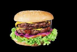 Даблчізбургер з яловичиною (415г)