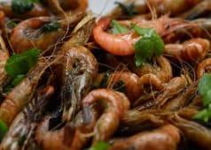 Teppanyaki Crevettes Grises