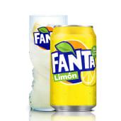 Fanta Limón lata 330ml.