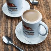 Café con leche grande 12 oz