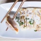 Guo Tie di Pollo,Verdure e Curry