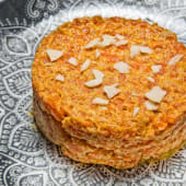 Pudding de zanahoria - gajar halwa