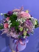 შერეული ყვავილების კომბინაცია