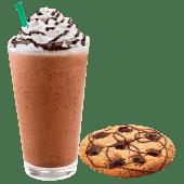 Algarrobina Frappuccino + Galleta de Chocochip