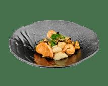Теппан овощи с морепродуктами (215г)