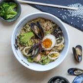 Рис з морепродуктами (430г)