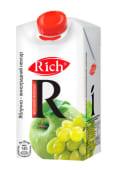 Сік Rich Яблучно-виноградний нектар (0,5л)