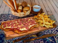 Milanesa de Carne Roquefort
