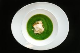 Supă cremă de broccoli şi spanac