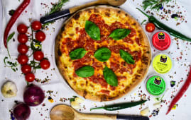 Pizza Bolognaise