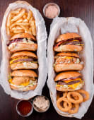 6 Famous Burgers
