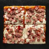 Pizza Wurstel (1/2 Teglia)