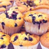 Muffin de arandanos