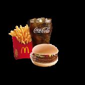 Double Beefburger Medium Meal