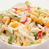 Салат з крабовими паличками (250г)