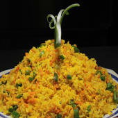 Chao fan con salsa curry