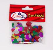 Confeti 14Gr Corazones Grandes Ref.050-0064