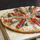 Pizza muzza & anchoas