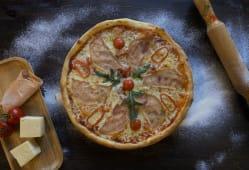 პიცა ქათმის შაშხით