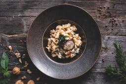 Campanelle con gorgonzola e noci