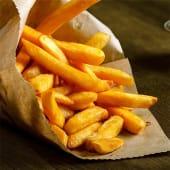 Patatas fritas caseras. (Ración mediana)