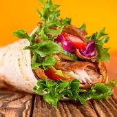 Kebab sólo carne