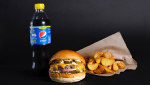 Халапеньйо burger menu