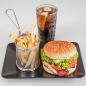 Hamburguesa americana (150 g.) 100% ternera