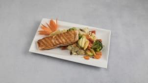 Grill Salmon Veggies