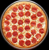 Pizza 1 Ingrediente (mediana)