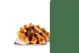 Waffle caramello