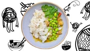 Рис Yellow curry