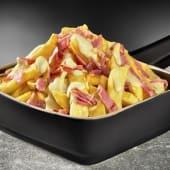 Patatas Fritas con Queso Cheddar y Bacon