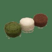 Mochi de té verde (3 uds)