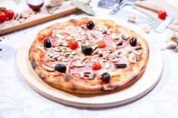 Pizza quatro stagioni mare