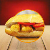 Hellim Pane Sandwich (30 cm.)
