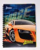 Cuaderno Espiral A4 100Hjs 1 Linea Economico Andaluz