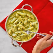 Green Sauce Pasta with Chicken باستا بالصوص الأخضر بالدجاج