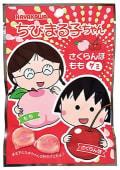 Chibi maruko-chan cherry & peach gummy candy 40gr