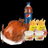 Combo familiar Pollo Entero + 4 Complementos