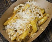 Бельгійська картопля з сирним діпом (180г)