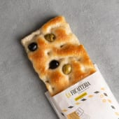 Mezza teglia di Focaccia con le olive